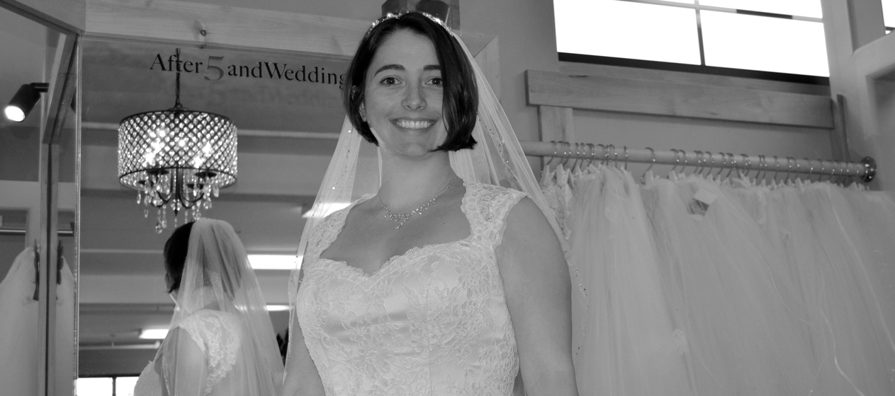 wedding dresses for less