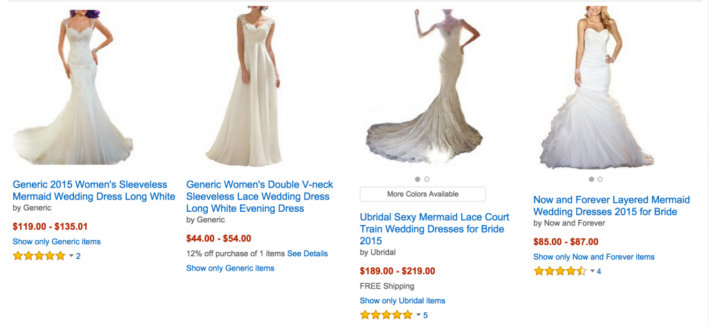 Affordable Wedding Dresses For $300 Or Less